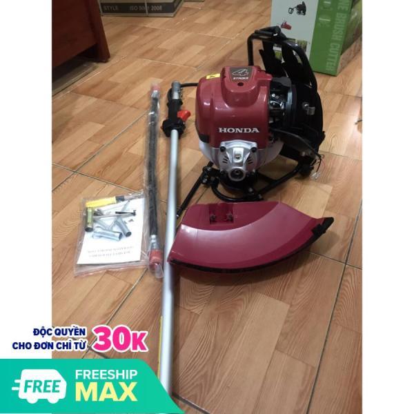 Máy cắt cỏ Honda Gx35 đeo lưng cần mềm - BH 12 tháng, rất tiện dụng bạn có thể thay lưỡi cắt cỏ sắt hoặc lưỡi cắt cỏ răng cưa, giúp bạn tốn ít thời gian hơn