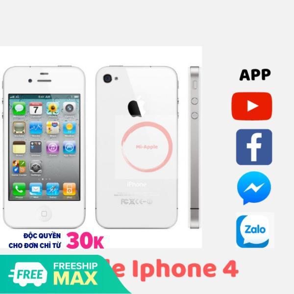 [giá sỉ] Điện thoại xin cảm ứng iphone4 có sim nghe gọi wifi pin khủng giá rẻ