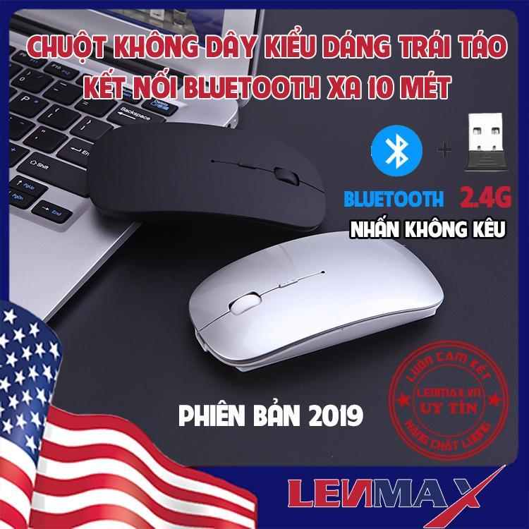 [PHIÊN BẢN 2019] Chuột Không Dây Bluetooth, Không Âm Thanh,...