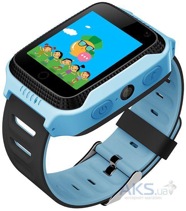 Đồng hồ định vị trẻ em Q528 màn hình màu có cảm ứng