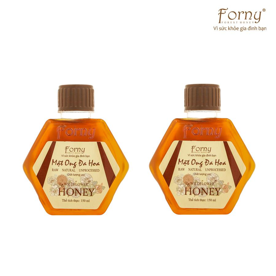 2 Chai Mật ong Đa Hoa Forny 150ml (mật ong tươi) nhập khẩu