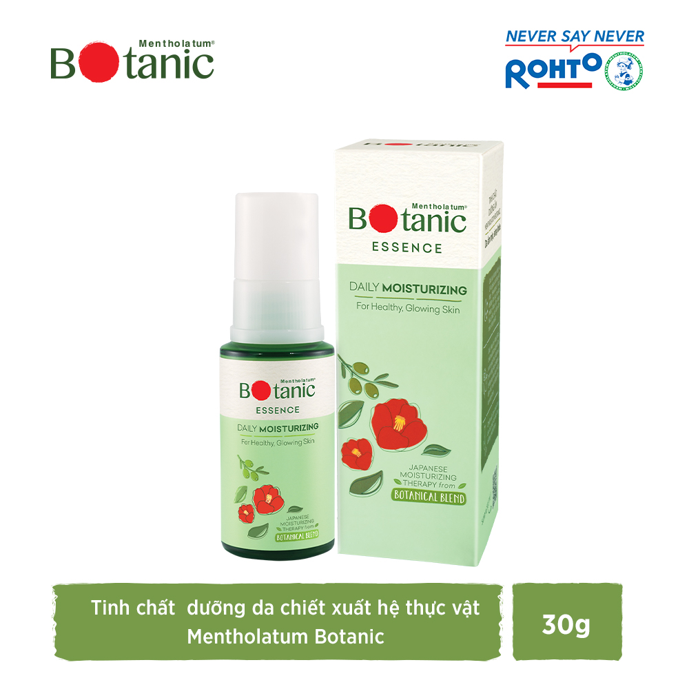 Tinh chất dưỡng ẩm mịn, da sáng khỏe Mentholatum Botanic Essence 30g
