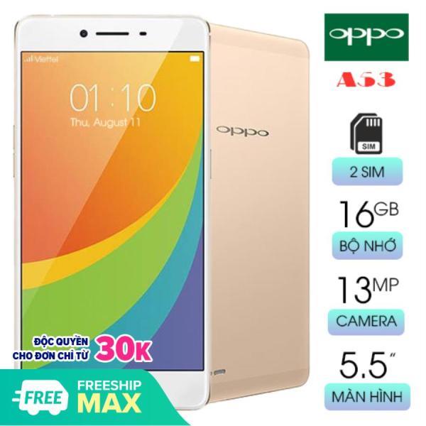 Điện thoại cảm ứng Oppo A53 RAM 2GB bộ nhớ 16GB màn hình rộng chơi game tốt