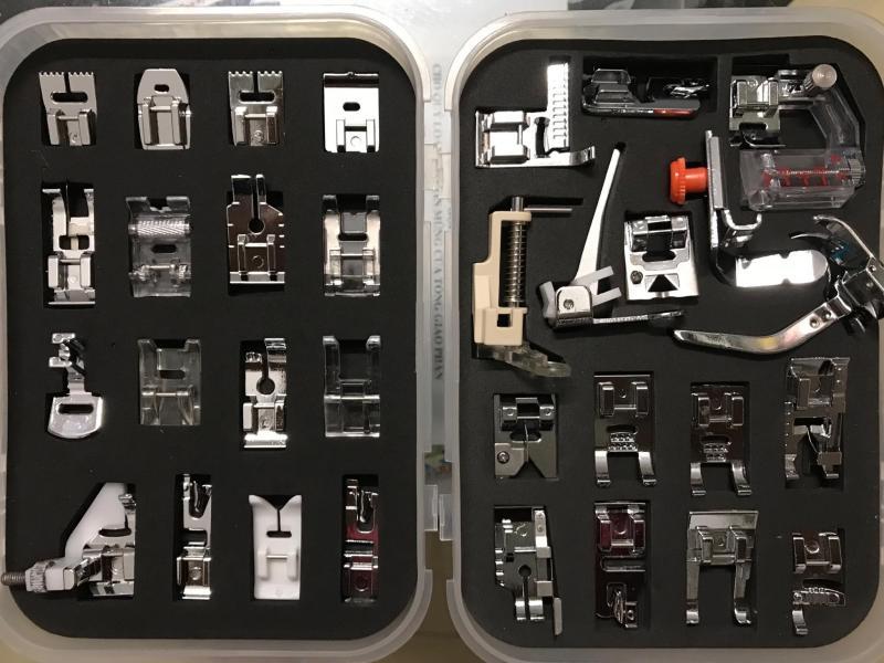 Bộ 32 chân vịt máy may gia đình