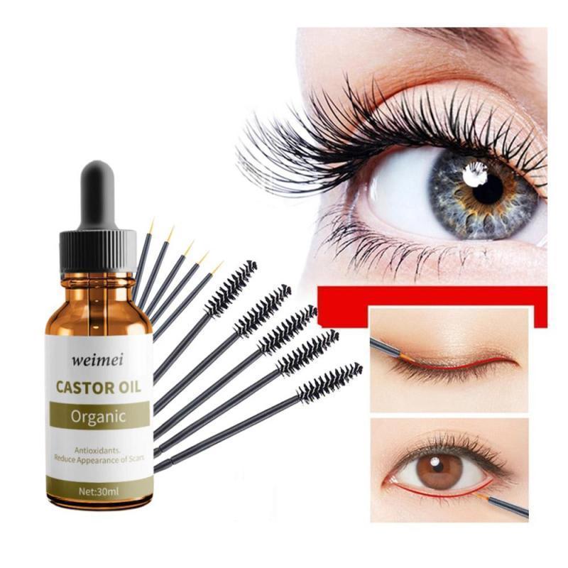 Castor Oil Pure Organic Castor Oil for Eyelash Extension Serum Enhancer Growth Liquid Eyelash Enhancer Eyelash Growth Serum Treatment cao cấp