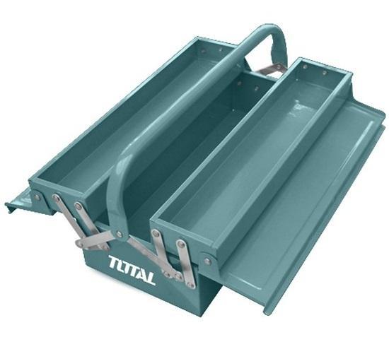 Hộp đựng đồ nghề 2 tầng 15inch Total THT10703