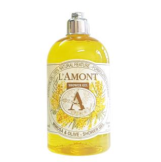 Sữa tắm Mimosa (hương hoa mimosa) 500ml - L Amont En Provence thumbnail