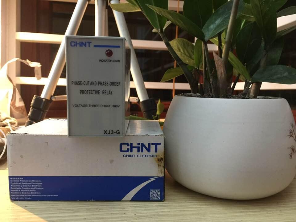 Bộ bảo vệ chống mất pha CHINT - XJ3G