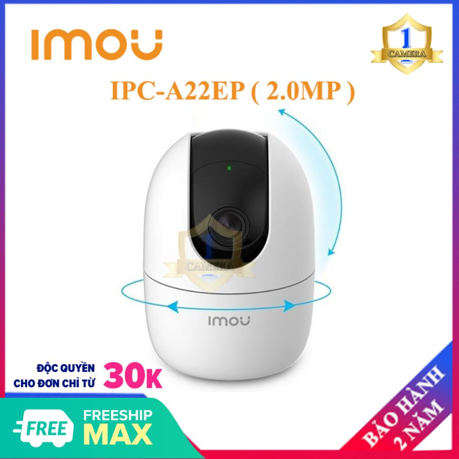 Camera IP WIFI IMOU IPC-A22EP ( 2.0MP ) DAHUA -Camera giám sát an ninh không dây - Âm thanh 2 chiều - Camera Số 1