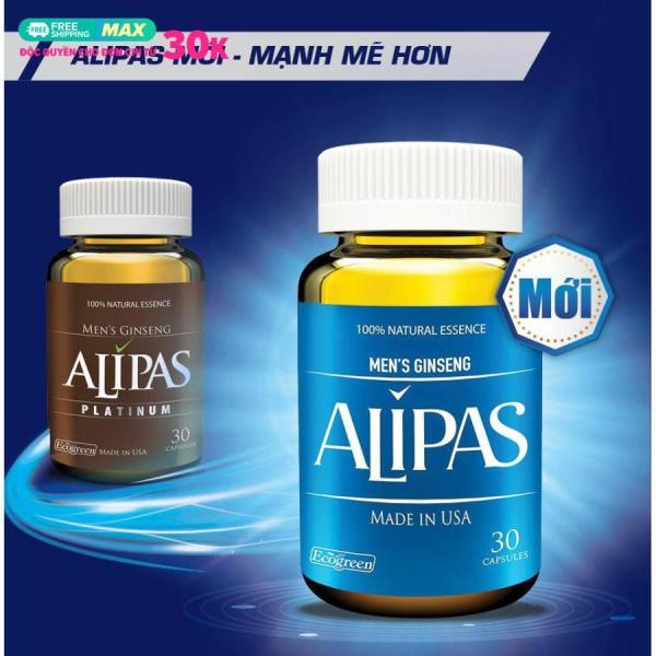 Sâm ALIPAS PLATINUM (Hộp 30 viên) Mới nhập khẩu