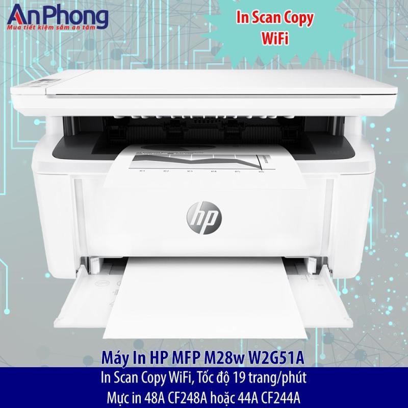 Máy In Scan Copy HP M28w W2G51A
