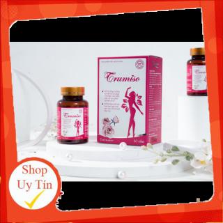 [ Combo 3 hộp ] Viên uống nở ngực TRUMISO - Giảm chảy xệ sau sinh, giúp da dẻ hồng hào, điều hòa kinh nguyệt - Chính hãng- TS001 thumbnail