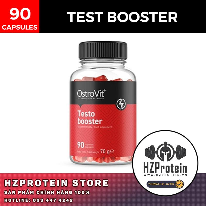 Viên Uống Testo Booster - Tăng Cường Sức Mạnh Nam Giới (90 Viên)