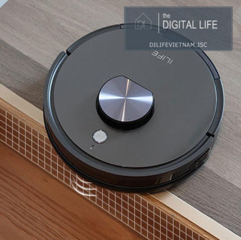 Robot Hút Bụi Lau Nhà Ilife X900 Hàng Mới Nguyên Serial