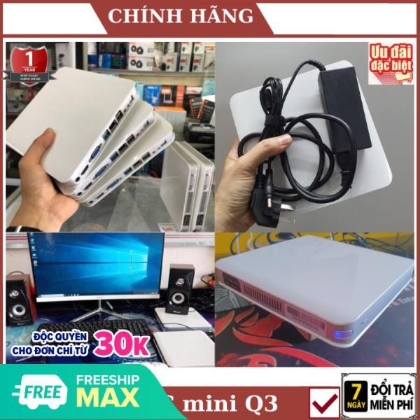 Bảng giá PC Mini Q3 Nhỏ Gọn- Mạnh Mẽ THẾ HỆ 4 N2940 2.25 GHz RAM 4Gb SSD 120Gb - Bảo hành 12 tháng - [ ẢNH THẬT 100%] Phong Vũ