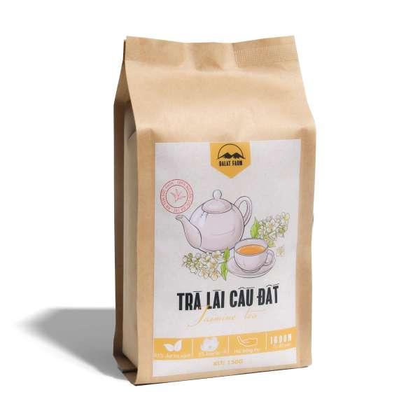 Trà Lài Cầu Đất Dalatfarm - Túi 150gr (Trà Hoa Nhài - Jasmine Tea)