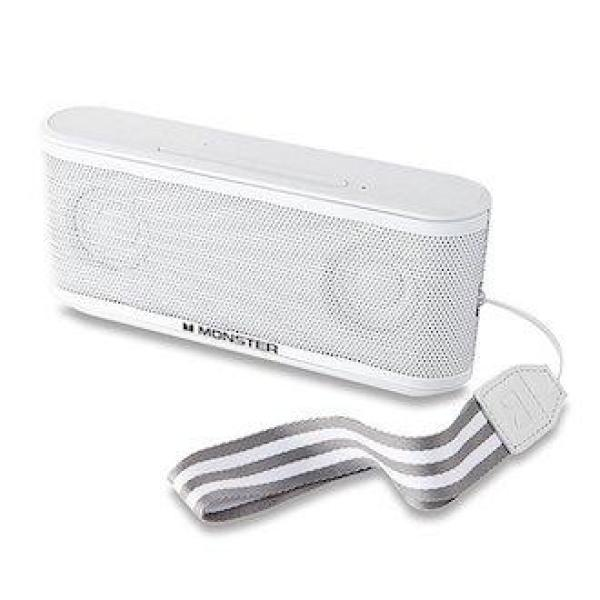 Loa Bluetooth Monster Clariy HD Micro White