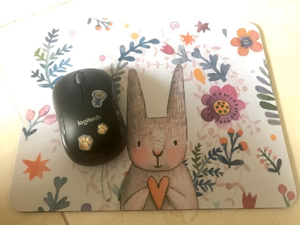 Bảng giá Bàn di chuột nhiều màu sắc kích thước 20 x 26cm, lót chuột dày 3mm, có ảnh thật Phong Vũ