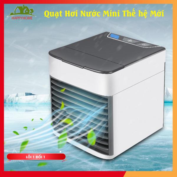 [ MUA 1 TẶNG 1 ] Quạt Điều Hòa Mini Hơi Nước Để Bàn, Máy Điều Hòa Mini Phun Sương Cắm Điện Công Nghệ Hàn Quốc Siêu Mát - Tạo độ ẩm, không làm khô da - Có chức năng lọc không khí - Độ Bền Cao - Bảo hành 3 tháng