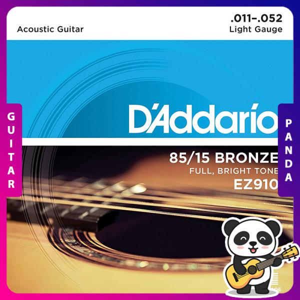Dây Đàn Guitar Acoustic DAddario EZ910 [Size 11]