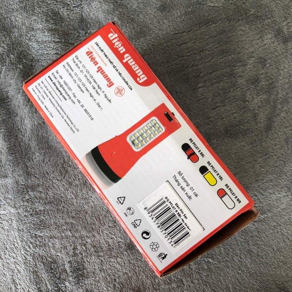 Đèn Pin LED Điện Quang ( Pin Sạc - đèn sáng liên tục 6 tiếng )
