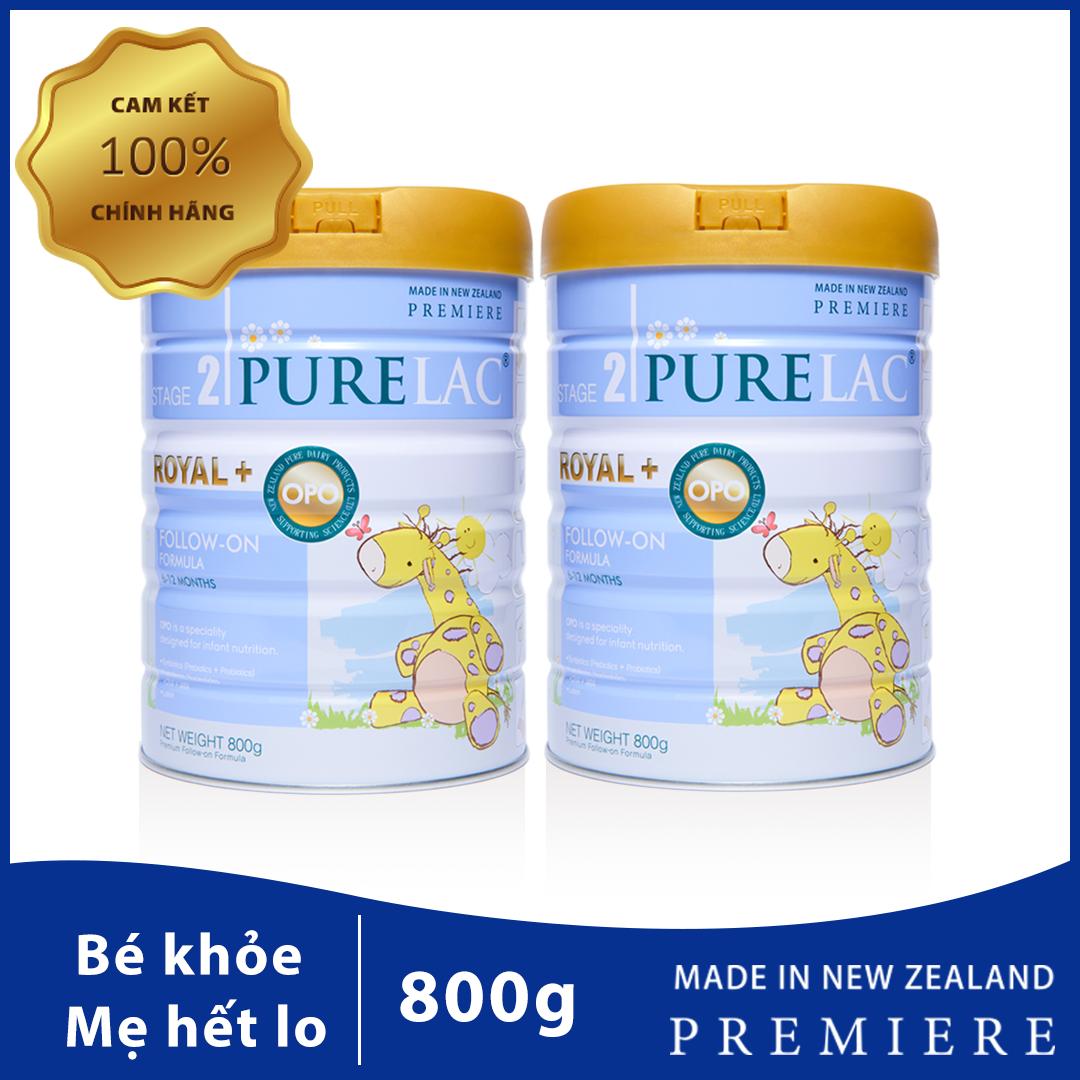 Combo 2 Sữa PureLac nhập khẩu New Zealand cho trẻ 6-12 tháng