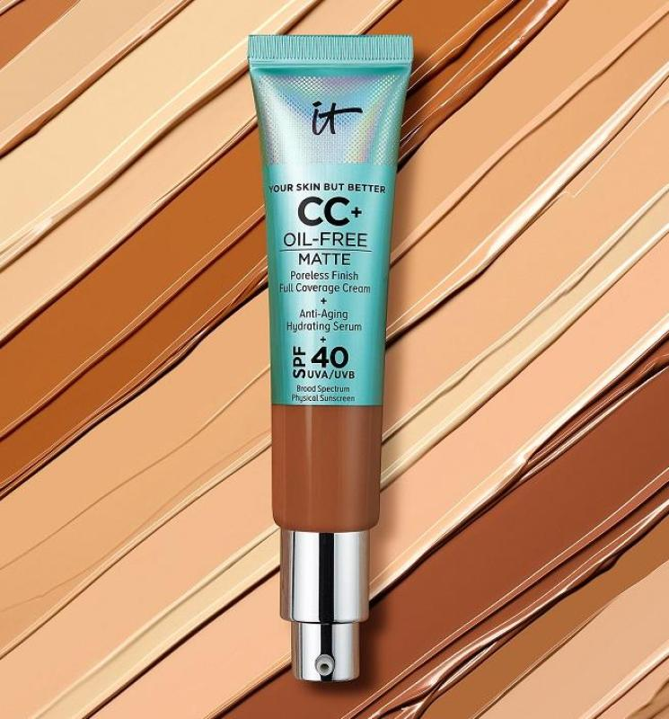 ItCosmetics Your Skin But Better CC+ Cream Oil-Free Matte with SPF 40 cao cấp