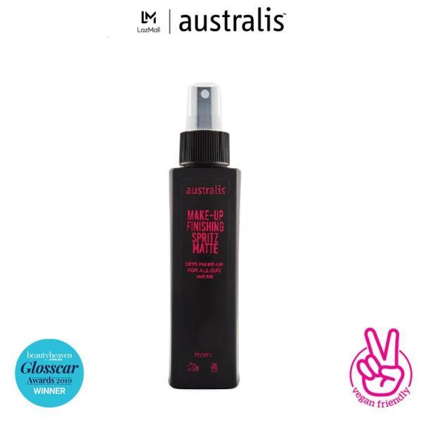 Xịt Khóa Trang Điểm Dạng Lì Kiềm Dầu Australis Make Up Finishing Spritz Matte-Hàng Úc Chính Hãng