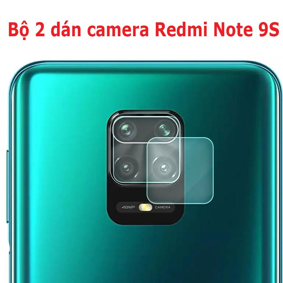 Bộ 2 Cường Lực Nano Camera Xiaomi Redmi Note 9S, 9 Pro Dùng Chung Giá Rẻ Bất Ngờ