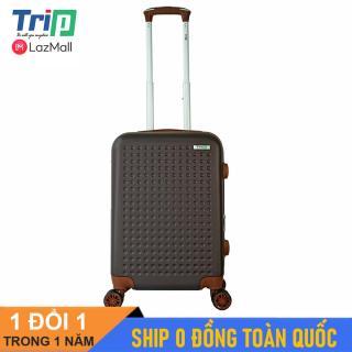 [MIỄN PHÍ SHIP] Vali TRIP P803A size 20inch - Vali du lịch TRIP size xách tay lên máy bay, 2 dây kéo nới rộng khoang hành lý thumbnail