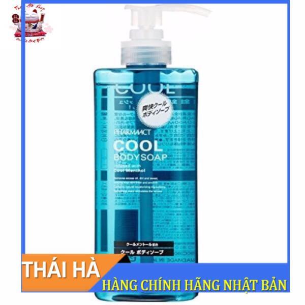 Sữa Tắm Nam Cool Body Soap Màu Xanh Dương 600ml Nhật Bản Hương Thơm Bạc Hà Mát Lạnh