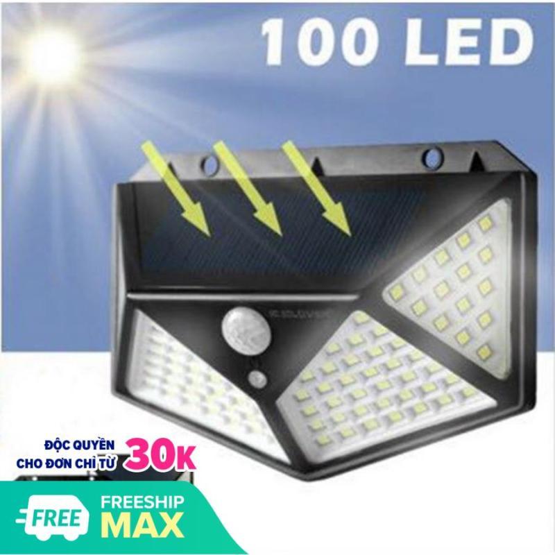 Đèn Năng Lượng Mặt Trời - Cảm Biến Siêu Sáng 3 Chế Độ Thông Minh 100 Bóng LED. Cam kết giá tốt nhất thị trường.