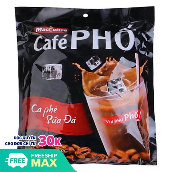 Cafe Phố 30gói x 24g - Ca Phê Phố - cafe sữa đá - MacCoffee - Cafe Phố 720g