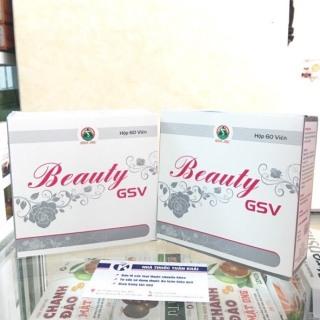 [CHÍNH HÃNG + QUÀ TẶNG ] Viên Uống Beauty GSV Bổ Sung Collagen Giúp Da Tươi Mịn Và Săn Chắc - Hộp 60 Viên thumbnail