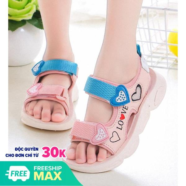Sandal in hình trái tim cho bé gái S0119
