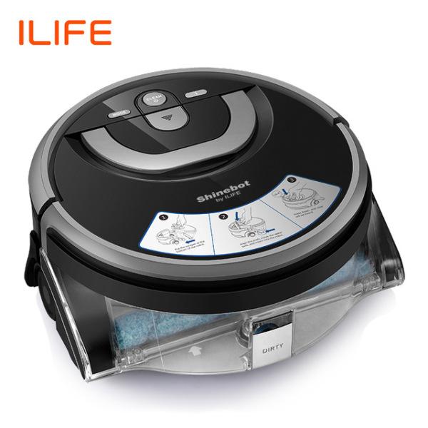 Robot Lau Nhà Chà Sàn ILife Shinebot W400 - Phiên Bản Quốc Tế