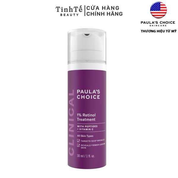 Tinh chất 1% Retinol Paulas Choice Clinical 1% Retinol Treatment 30ml