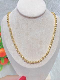 [HCM]Dây chuyền nữ mạ vàng thật 18K JK Silver cho độ sáng lấp lánh cao cam kết không đenkhông bay màukhông gây dị ứng thích hợp đi tiệc cực sang chảnh day chuyen bac dep trang suc vang nonU.daychuyen89 thumbnail