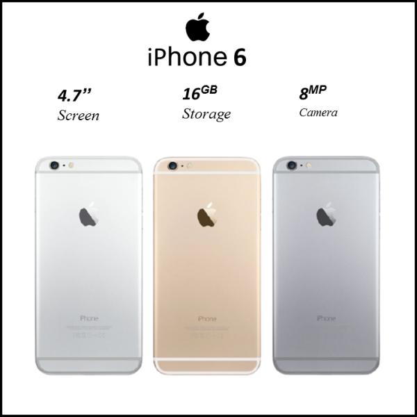 Điện Thoại iPhone 6 QUỐC TẾ 16GB. Tặng Cường Lực, Tai Nghe, Bộ Sạc...Bảo Hành 6 Tháng