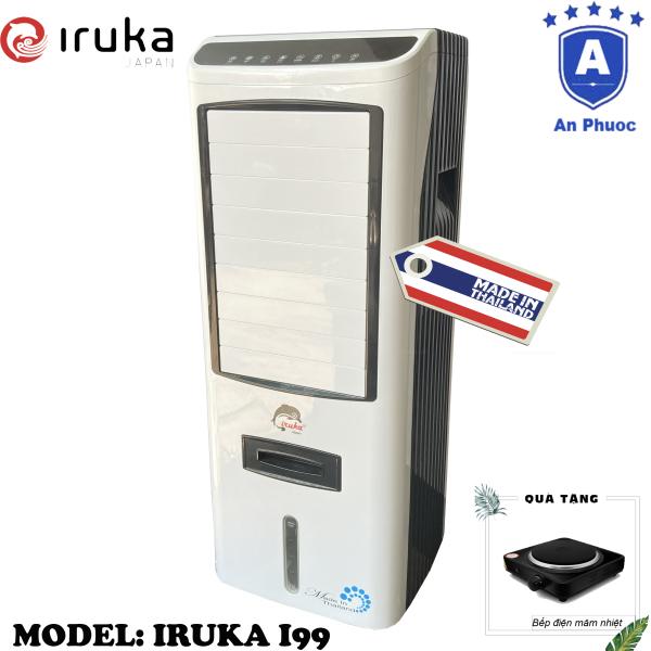 Bảng giá [Trả góp 0%]Quạt hơi nước làm lạnh không khí Iruka I99 Made In Thái Lan | Công suất 200W | Màn hình cảm ứng có remote điều khiển | BH 12 Tháng Tại Điện Máy LACI | Tặng Bếp Điện Mâm Nhiệt Perfect HP7891