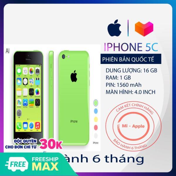 Điện thoại iPhone 5C Quốc tế nhiều màu sắc cấu hình cao Tặng phụ kiện bảo hành 6 tháng