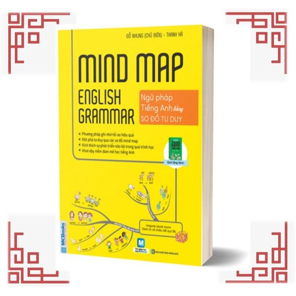 Mua Sách - Ngữ Pháp Tiếng Anh Bằng Sơ Đồ Tư Duy (Mind Map English Grammar)