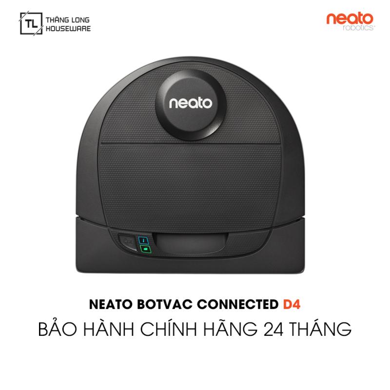 Robot hút bụi Neato Botvac D4 Connected - Hàng chính hãng Bảo hành 24 tháng 1 đổi 1