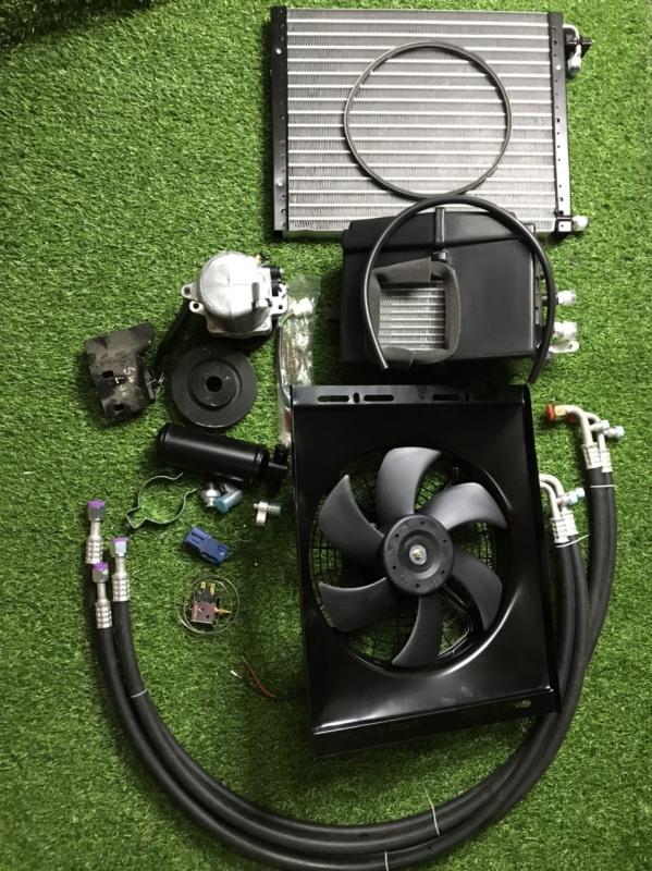 Combo bộ điều hòa dùng cho xe suzuki 500-750KG