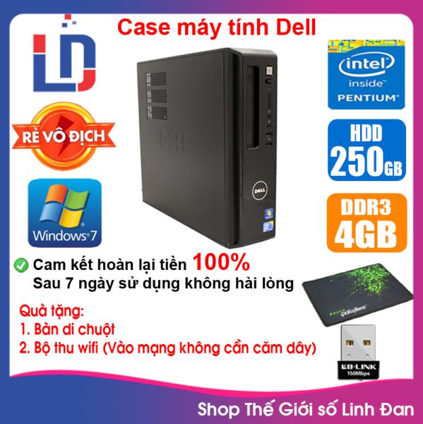 Bảng giá Case máy tính DEL CPU Dual Core E5xxx / Core i7-3770 / Ram 4GB / HDD 250GB-500GB / SSD 120GB-240GB [QUÀ TẶNG: Bộ thu wifi, bàn di chuột] DEI73 - LLD Phong Vũ