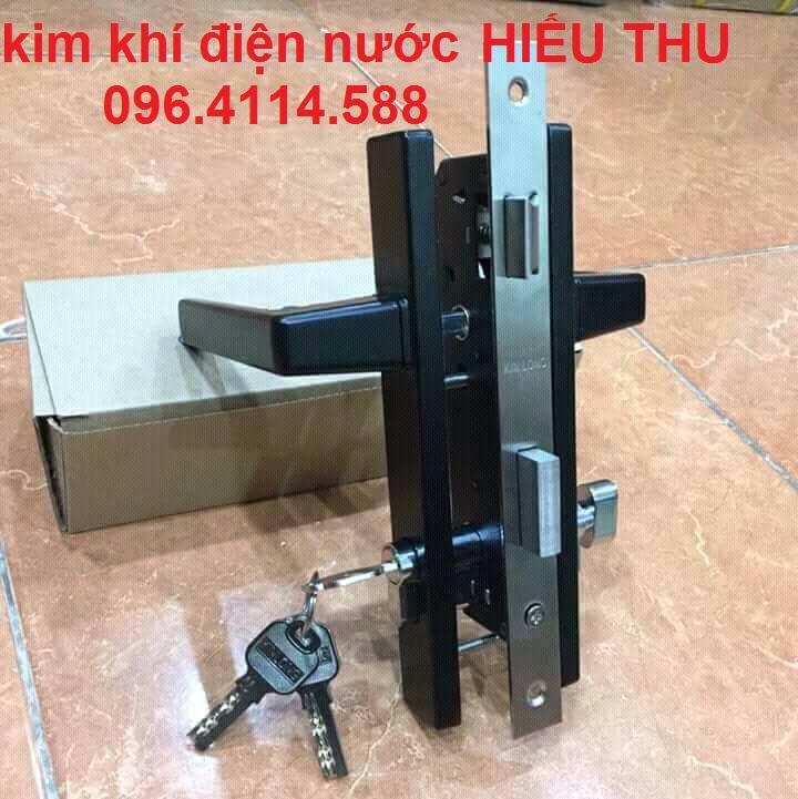 khóa tay gạt Kinlong lắp cửa nhôm- cửa nhựa- cửa thép