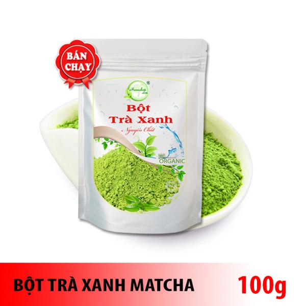 Bột trà xanh matcha làm trà sữa nguyên chất từ Thái Nguyên - Loại 1