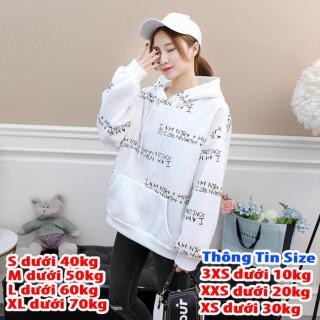 Áo hoodie nữ 4YOUNG in họa tiết I AM thumbnail