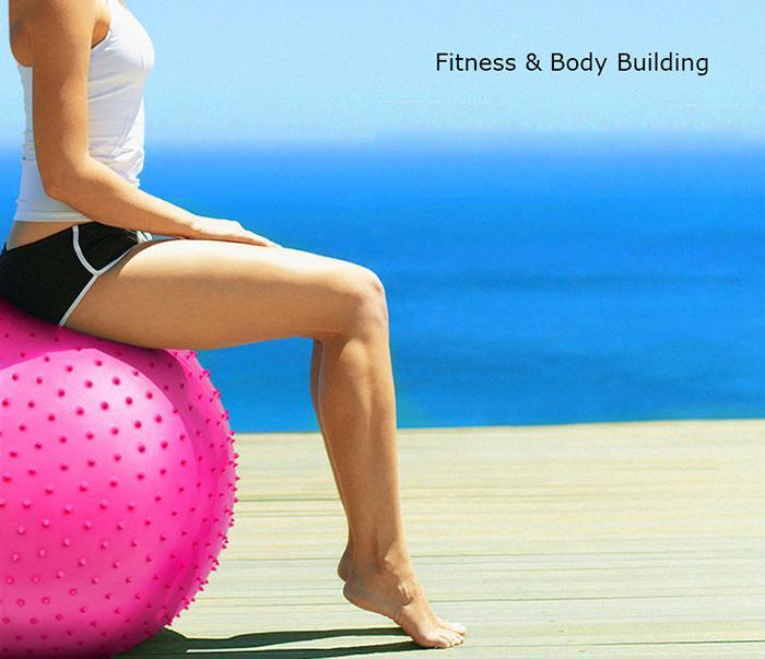 Bảng giá Bóng Tập Yoga Có Gai 75cm (CHỈ BÁN MIỀN NAM) - Sản phẩm chất lượng