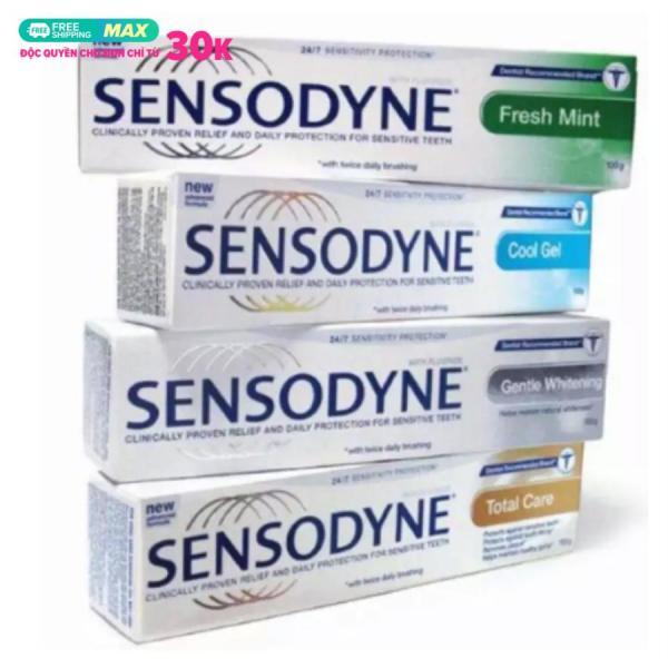 Combo 5 Tuýt Kem đánh răng sensodyne chống ê buốt thái lan giá rẻ